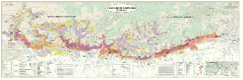 Carte du Vignoble de Bourgogne Côte d'Or